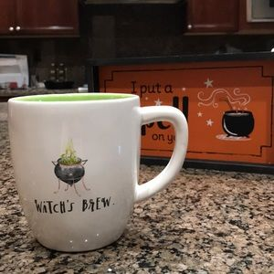 Rae Dunn Halloween witches brew mug
